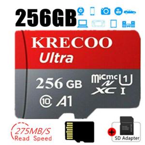256 GB Speicherkarte Class 10 275MB/s High-Speed TF Card Handy Für Micro FORMAT