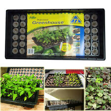 SEED STARTER KIT JIFFY SEEDLING Tray 72 Peat Pellet Greenhouse Propagation Plant