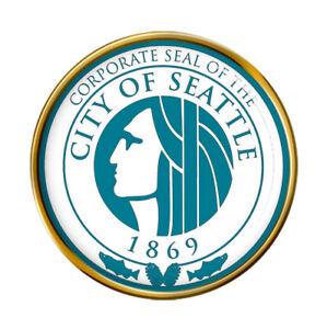 Seattle WA (USA) Pin Badge