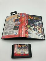 Sega Genesis Cart Case No Manual Tested Taz In Escape From Mars Hang Tab
