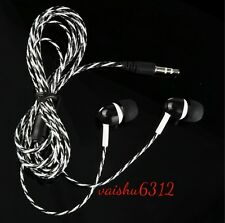 ★Wired Stereo Music 3.5mm Earphone Headset Compatible For★Blackberry Curve 9360★