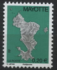 MAYOTTE, ERROR OF COLOR 20 CENTIMES 2008, MINT NEVER HINGED