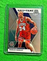 CHARLES BARKLEY MOSAIC SILVER CHROME CARD 76ERS 2019-20 MOSAIC BASKETBALL HOF