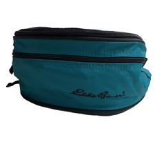 Vintage | Eddie Bauer Green Teal Fanny Pack | Adjustable Strap