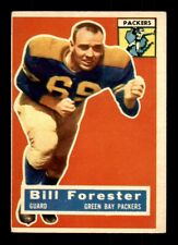 1956 Topps #79 Bill Forester Packers VG-EX+ *8g