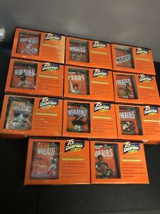 1999 WHEATIES 75 YEARS OF CHAMPIONS 24K GOLD COMPLETE SET!ALL BRAND NEW IN BOXES