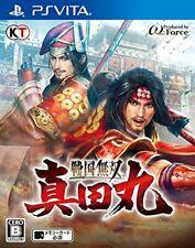 Usé Ps Vita Sengoku Musou Sanadamaru Samurai Dynasty Warriors 87035JAPAN Import