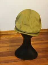 Authentic Dolce & Gabbana Men's Flat Cap Newsboy Olive Size 59 Made in Italy