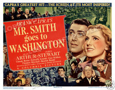 Mr. Smith Goes To Washington Lobby Title Card Poster 1939 James Stewart