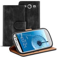 Bolso para Samsung Galaxy s3/s3 funda neo Case Handy flip cover negro