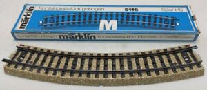 Marklin HO #5116 Track Contact Section, Curved LN/Box