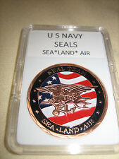 US NAVY SEALS Commemorative Challenge Coin (Copper)