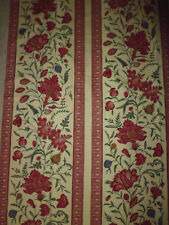 Braquenié coupon tissu ameublement imprimé french fabric style Indienne 18e  / 5