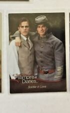 Vampire Diaries Season 1 Foil Chase card FO8 Soldier in love