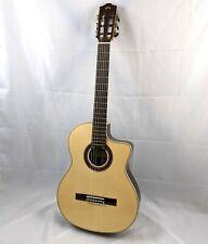 CORDOBA GK Studio Negra Cutaway Acoustic-Electric Nylon String Classical Guitar
