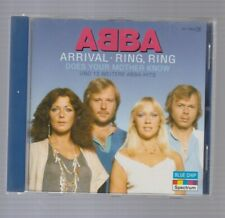BLUE CHIP CD - ABBA - ARRIVAL-RING RING-18 TRACK GERMAN CD-EXCELLENT