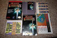 Dragon Warrior IV 4 (Nintendo Entertainment System NES 1992) Complete Maps GREAT