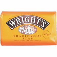 Wright's Traditional Soap with Coal Tar 125g - 4 Pack