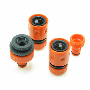 8 PCS  Garden lawn Water Hose pipe fitting Connector tap adaptor Watering Home