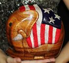 Timmy Woods REPUBLICAN BOB LMT ED ELEPHANT PATRIOTIC Signed CRYSTAL Minaudiere