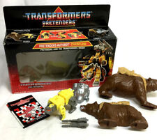 RARE 1988 Hasbro Vintage G1 Transformers Pretenders Chainclaw Complete Boxed