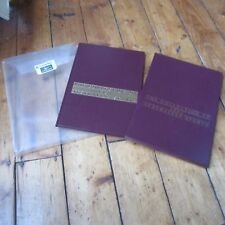 Collection of Australian Stamps 1987 Deluxe Hardback Year Book Slip Case Wallet