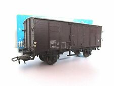 Piko HO : Wagon couvert à toit plat SNCF réf. 5/123-071 + boîte.