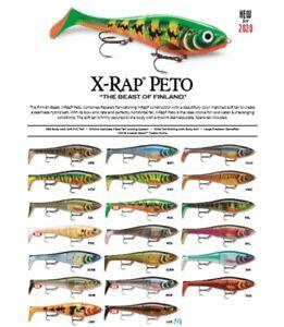 Rapala X-Rap Peto // XRPT14 // 14cm 39g Fishing Lures (Choice of Colors)