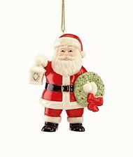 Lenox 2015 Lighting the Way Santa Claus Ornament Limited Edition New In Box!