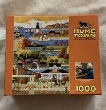 Mega Brands 1000 Piece Jigsaw Puzzle Hometown Heronim Moms Apple Pie