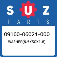 09160-06021-000 Suzuki Washer(6.5x30x1.6) 0916006021000, New Genuine OEM Part