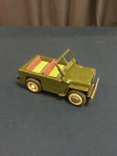 Rare Jouet Tole A Friction 1950-60 JEEP WW2 !!!!