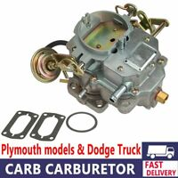 Carburetor Replacement Engine Fit DODGE Plymouth 318 Engine Carter C2-BBD BARREL