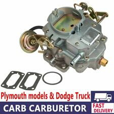 Carburetor Replacement Engine For DODGE Plymouth 318 Engine Carter C2-BBD BARREL