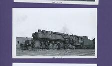 Detroit & Mackinak DM 2-8-8-0 Steam Locomotive #202 - Vintage B&W Railroad Photo