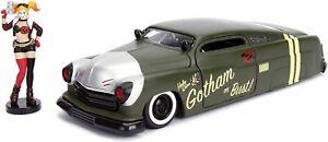 Jada Toys DC Comics Bombshells Harley Quinn & 1951 Mercury Die-cast Car, 1:...