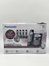 Panasonic KX-TG785 5 Handset Cordless Phone W/ Link2Cell Digital Answering