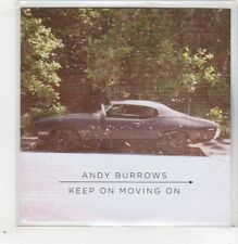 (GB590) Andy Burrows, Keep On Moving On - 2013 DJ CD