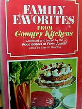 Family Favorites from Country Kitchen  1973 First Edition by Farm Journal