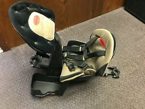 Child Bike Seat Front Mount Bicycle Safety Baby Carrier Toddler Back Padding