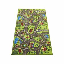 "Extra Large 79"" x 40""! Kids Carpet Playmat Rug City Life - Great For Playing"