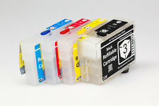 EMPTY Refillable Ink Cartridges for Epson 252 252XL Workforce WF-7620 WF-7610