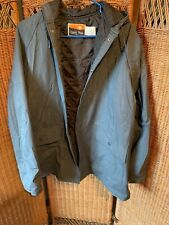 OZARK TRAIL RAIN JACKET SIZE MED. Gray With Hood