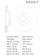 Disc Brake Rotor-4WD Front Promax 20-55047