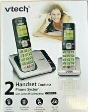 VTech 1.9GHz Dual Handsets DECT 6.0 Cordless Phones Speakerphone CS6719-2 NEW
