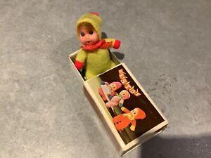 1980's Vintage Baby William Matchbox Doll - Bestoy yellow baby