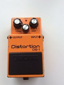 BOSS DS1 DS-1 DISTORTION PEDAL MIJ MADE IN JAPAN 1984