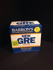 BARRON'S NEW GRE 2ND ED. BOXED SET COLLEGE ENGLISH TEST PREPARATION
