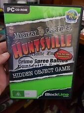 Mystery Case Files - Huntsville -  PC GAME - FREE POST *