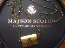 * Tolle Kette von Maison Scotch * Brief *